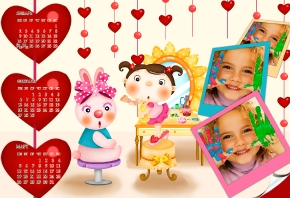Детский квартальный календарь