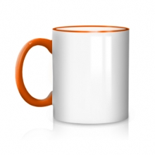 Оранжевая кружка