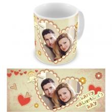 Макеты чашек с Вашим фото на День Влюбленных